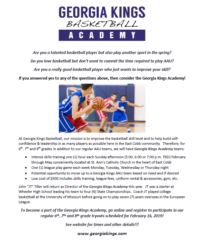 GKB Academy Flyer